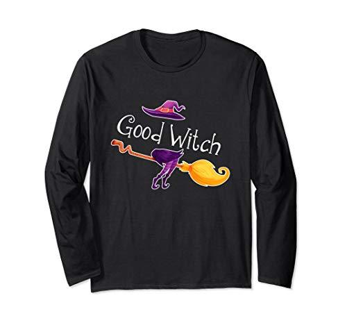 Good Witch Halloween Long Sleeve Shirt for men women -