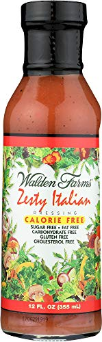 Walden Farms (NOT A CASE) Zesty Italian Dressing Carbohydrate -