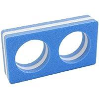 Leisis 0101029 Conector macarrones Lazo, Azul, Talla Única