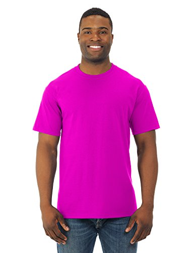 Fruit of the Loom Men's Short Sleeve Crew Tee, Large  - Neon - Color Outfits Neon