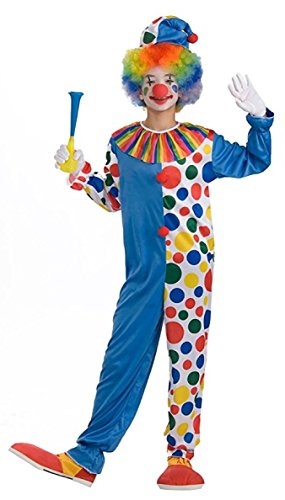 [Forum Novelties Big Top Clown Teen Costume] (Boy Clown Costumes)