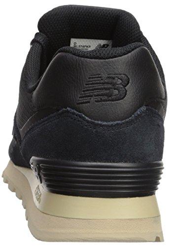 Nieuw Evenwicht Herren 574 Sneaker Schwarz (zwart)