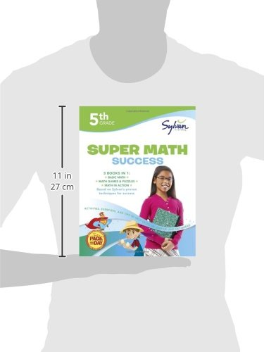 5th Grade Super Math Success: Activities, Exercises, and Tips to ...