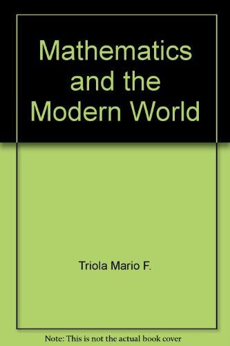 Mathematics and the modern world