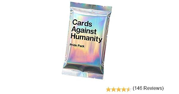 Cards Against Humanity Pride - Pack de Cartas sin Purpurina: Amazon.es: Bricolaje y herramientas