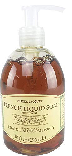 Trader Joes Trader Jacques French Liquid Orange Blossom Honey Hand and Body (Orange French Soap)