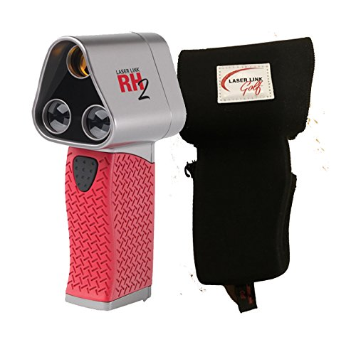 Laser Link Red Hot 2 Golf Rangefinder Bundle with Free PlayBetter Protective Carrying Pouch | RH2 Laser - Warehouse Review Sunglasses