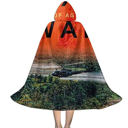 Veetor Toxic War-The Story of Agent Orange Halloween Kids Hooded Cape Cloak