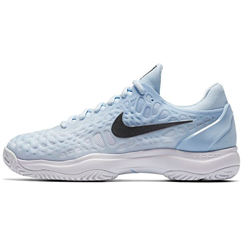 Air NIKE White 3 Metallic Wmns Hydrogen Cage Blue Fitness Dark da Grey Zoom Scarpe Donna HC r5wrqZA