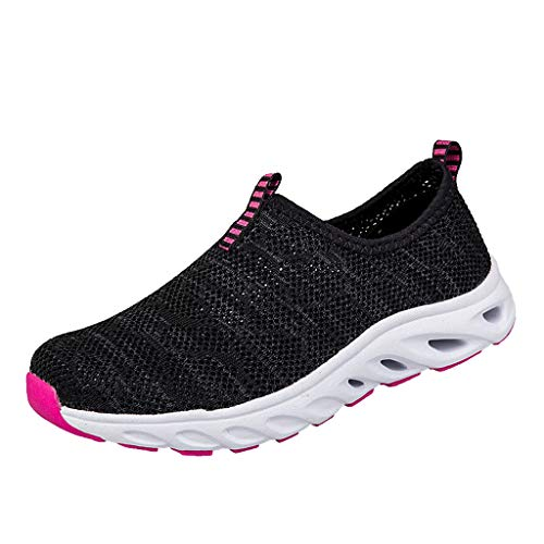 JJHAEVDY Men's Women Mesh Slip-on Shoes Fashion Comfort Non-Slip Walking Travel Sneakers Summer Lightweight Casual Shoes