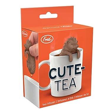 Fred 5200171 CUTE-TEA Hedgehog Silicone Tea Infuser, Snarky