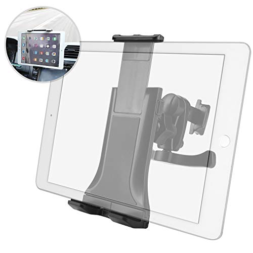 Air Vent Tablet Car Mount Holder, MAYOGA Universal 360° Rotating Phone Cradle Car Tablet Mount Adjustable for iPad pro, Mini, air/Samsung Galaxy, 4