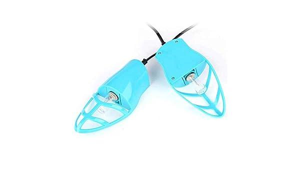SHENG Secador de zapatos - Calentador con el ventilador de calor, Estante ajustable portátil y el temporizador, Diseño plegable y secado rápido for los zapatos, guantes, sombreros, calcetines, botas d: Amazon.es: Hogar