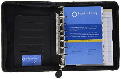 FranklinCovey 33963 Leather Organizer Zipper product image