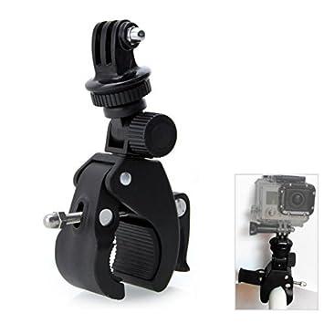 Support de Fixation 360 Degrés de Rotation Guidon de Vélo Moto Arceau de  Sécurité, Adaptateur b6e5dd710294