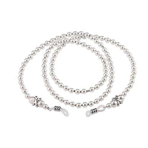 Pearl Eyeglass Holder Necklace - 8