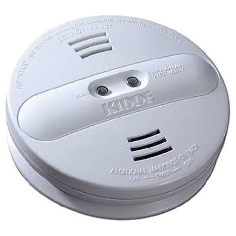 Kidde PI9010 Dual Sensor Battery Operated Smoke Alarm - Photoelectric Ionization Smoke Detectors
