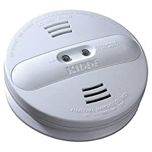 kidde pi9010 dual sensor battery operated smoke alarm smoke detectors. Black Bedroom Furniture Sets. Home Design Ideas
