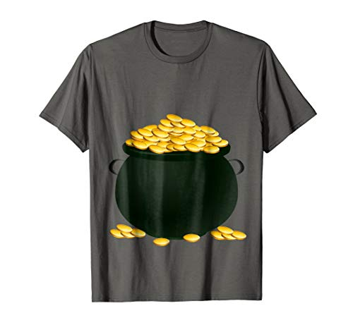 Pot Of Gold Costume T-Shirt Holiday and Halloween Parties]()