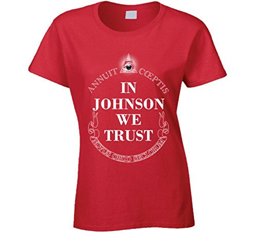 In Ashleigh Johnson We Trust 2016 Olympics Water Polo Ladies T Shirt S - Polo In Olympics