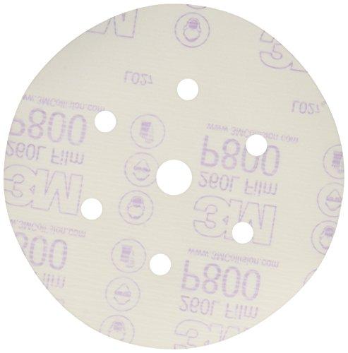 3M 01070 Hookit 6'' P800 Grit Dust-Free Finishing Film Disc by 3M