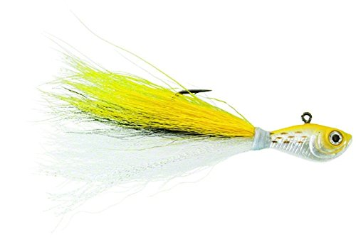 Spro Bucktail Jig-Pack of 1, Magic Bus, 3/8-Ounce