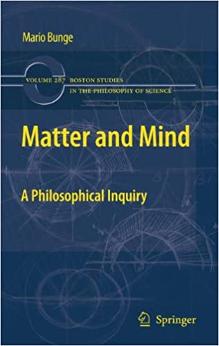 Book Matter and Mind: A Philosophical Inquiry (Boston Studies in the Philosophy and History of Science) (Volume 287)