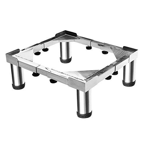 LZ-SNAIL Universal Stainless Steel Washing Machine Base High Shelf Bracket Pads Tray Universal Adjustable Appliance Refrigerator &Tumble Dryer Pedestal Waterproof Chassis Size Optional (Size : #3)
