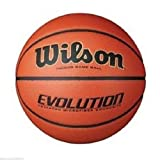 Wilson Mens NCAA Evolution Basketball with Retail Packaging
