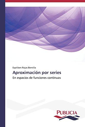 Descargar Libro Aproximación Por Series Rojas  Bernilla Esptiben