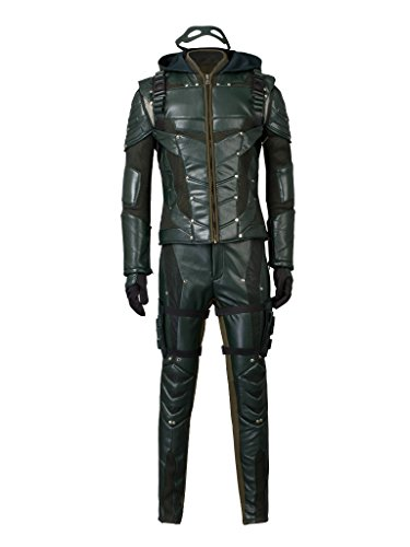 CosFantasy Season 5 Oliver Queen Cosplay Arrow Costume