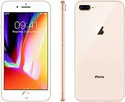"""iPhone 8 Plus Apple 64GB Dourado Tela Retina HD 5,5"""" IOS 11 4G e Câmera de 12 MP"""