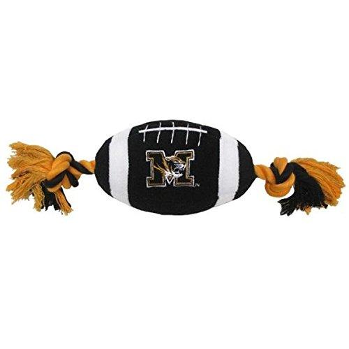 (Missouri Tigers Plush Football Pet Toy)