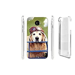 FUNDA CARCASA DOG TRAVEL PARA HTC DESIRE 601
