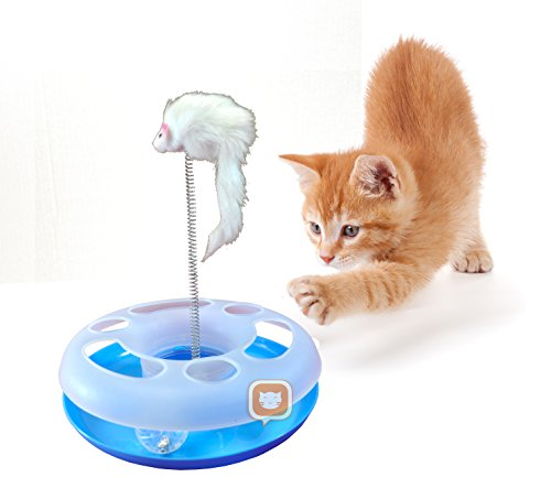Purrfect Feline Mouse Ball Track