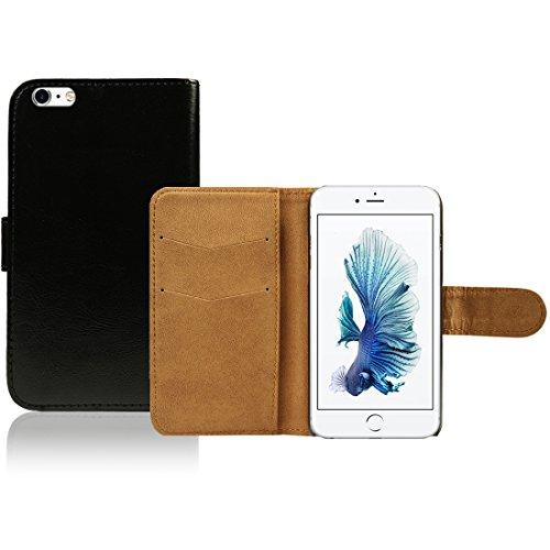 Apple iPhone 5 / 5s Caso Elegante - Azul Silicona TPU Gel Bumper Funda Case Sleeve Skin Para Apple iPhone 5 5s - thinkmobile Schwarz Brieftasche