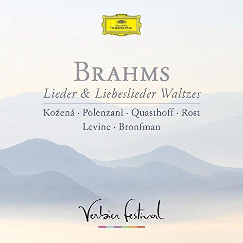 CD : ANDREA ROST - MAGDALENA KOZENA - MATTHEW POLENZANI - THOMAS QUASTHOFF - YEFIM BRONFMAN - JAMES LEVINE - Lieder & Liebeslieder Waltzes (verbier Festival) (CD)