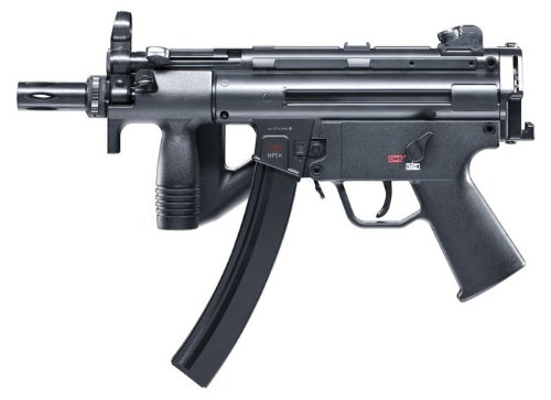 Umarex Heckler & Koch MP5 2252330 BB 40 Rounds 400fps Air Rifle, 0.177 Caliber, - Gun Rifle Co2 Airsoft