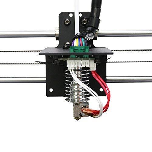 1.75mm ANYCUBIC 3D Boutique officielle Original I3 MEGA MEGA-S Kit Extrudeur hotend pour imprimante MEGA MEGA-S 12V avec bloc de chauffe en aluminium 0.4mm Buse pour MEGA Series