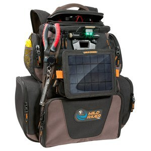 Wild River Tackle Tek™ Nomad XP™ Lighted Backpack w/USB Charging System, SP01 Solar Kit & Trays (52954)