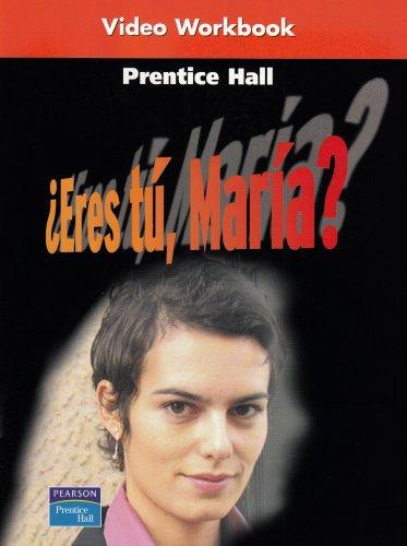Realidades 1 Video Workbook: Eres tu, Maria? (English and Spanish Edition)
