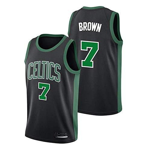 Camiseta Baloncesto- Boston Celtics 7# Jersey Bordado de Malla de Baloncesto Swingman Jersey (TAMAÑO: S-XXL)