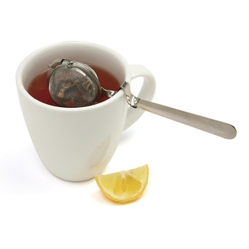 Norpro Mesh Tea Ball with Cup Rest Handle, Set of 2