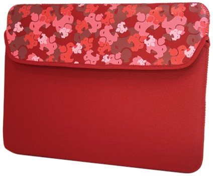 Sumo ME-SUMO66107 10/11.6-Inch Camo Netbook Sleeve (Red) ()