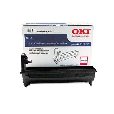 Oki Laser Printer Cartridges - Oki Data 44318502 Image Drum for C711 Series Printers, 20000 Page Yield, Magenta