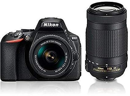 Nikon D5600 With Af P 18 55 Mm Af P 70 300 Mm Vr Kit With Bag And 16gb Memory Card Free