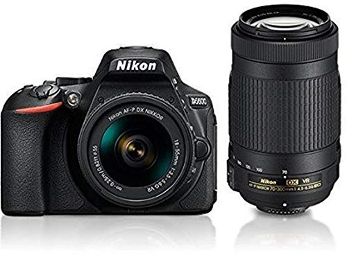 Nikon D5600 with AF-P 18-55 mm + AF-P 70-300 mm VR Kit with Bag and 16GB Memory Card Free 1