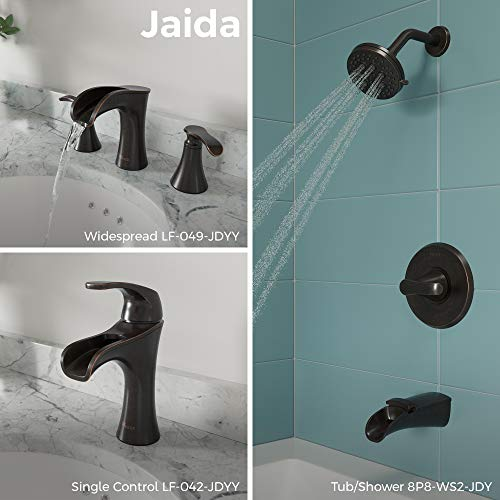 Pfister 8P8-WS2-JDSY Jaida Tub and Shower Faucet, Tuscan Bronze
