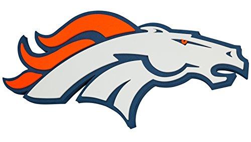 NFL Denver Broncos 3D Foam Wall Sign ()