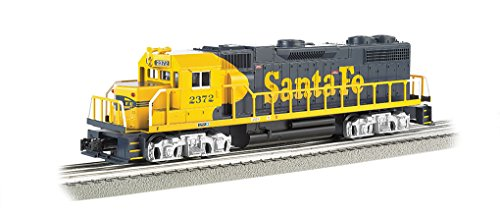 Bachmann Industries General Motors GP 38 Scale Diesel Locomotive Santa Fe 2372 O Scale - Motors Locomotives General